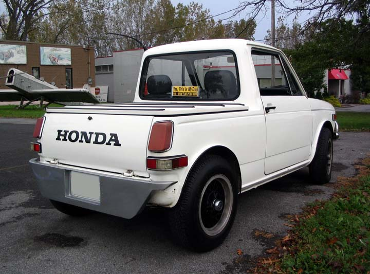 honda 39 s mistake 1972 honda az600 pickup. Black Bedroom Furniture Sets. Home Design Ideas